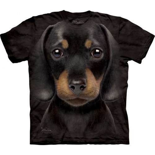 8a8be794f0cb1 T-shirt enfant chien - The Mountain motif teckel chiot