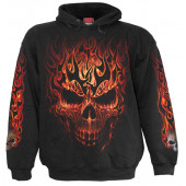 Skull blast - Sweat shirt enfant - Crane flamme - Spiral