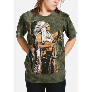Indien Guerrier T-shirt - The Mountain