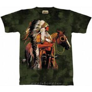 boutique vente tee shirt indien Amérique amérindien guerrier