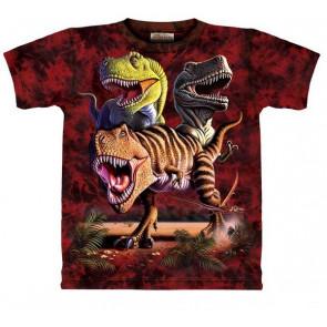 Rex collage T-shirt enfant - The Mountain