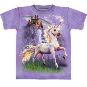 tee shirt fille licorne the mountain