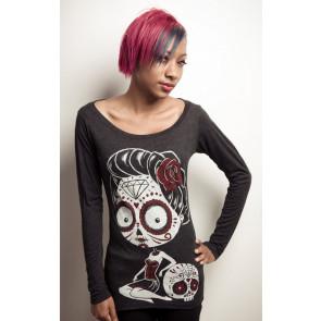 La Cavelera - T-shirt femme gothic ML - Akumu Ink