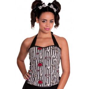 hau trop femme style corset hell bunny