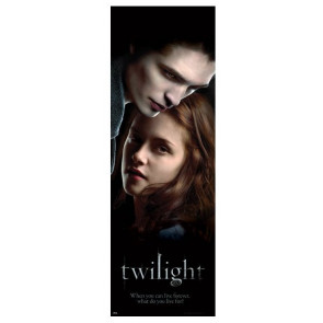 Twilight Edward et Bella - Poster de porte