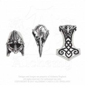 Norsebraid - Bijoux viking cheveux ou barbe - Alchemy Gothic