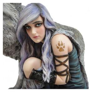 Protector - Edition limitée - Figurine loup fantasy - Anne Stokes