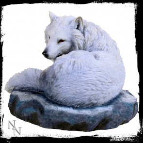 Guardian of the north - Figurine loup - Lisa Parker