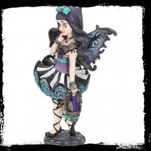 Adeline - Figurine fille fée gothique