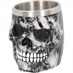 Soul skull - Broc mug - Tankard - Chope - Gothic - 16cm