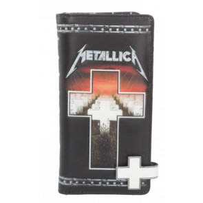 Boutique Metallica licence officielle merch portefeuille master of puppets
