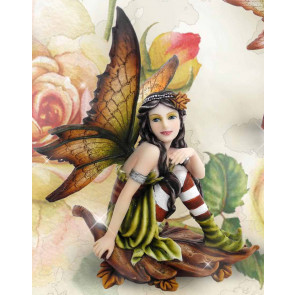 Fée elfe - Figurine féerique (14.5x10cm)