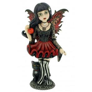 Hazel - Figurine fille fée gothique