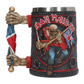 Boutique Iron maiden grupe heavy metal merch officiel mug chope tankard the trooper