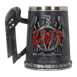 Boutique slayer trash metal rock mug chope bière tankard aigle noir