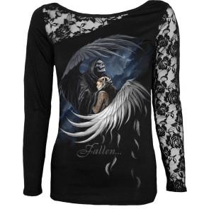 Fallen - T-shirt femme ange gothic - Spiral