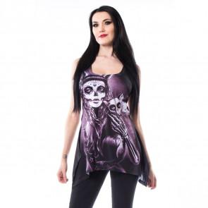 Magasin vente tee shirt débardeur gothic tunique femme vixxin