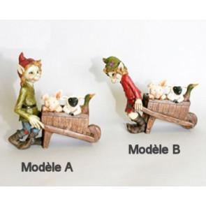 figurines pixies et lutins
