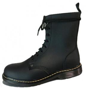 Black on vegan - Chaussures rock gothique