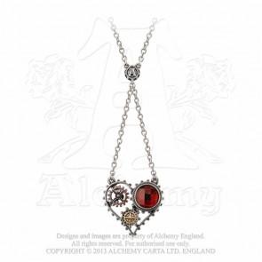 Coeur du morteur - Pendentif steampunk - Alchemy Gothic