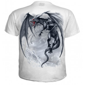 Dragon's cry - T-shirt blanc homme