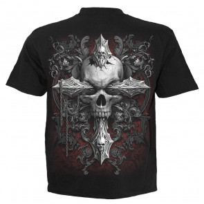 Cross of darkness - T-shirt homme croix gothique - Spiral