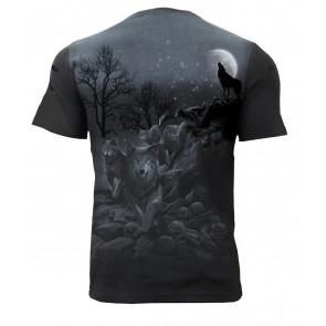 Shadow wolf - Tee-shirt motif loup - Homme - Spiral