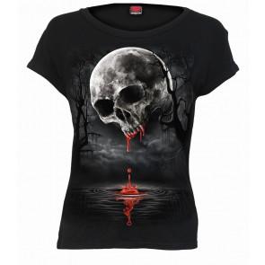 boutique vente tee shirt gothic dark wear pour femme magasin spiral france