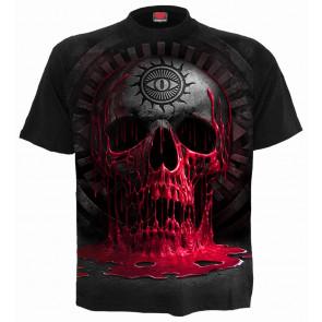 Bleedings soul - T-shirt homme croix gothique - Spiral