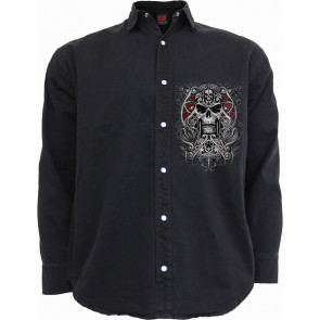 Reaper's door - Chemise homme - Manches longues