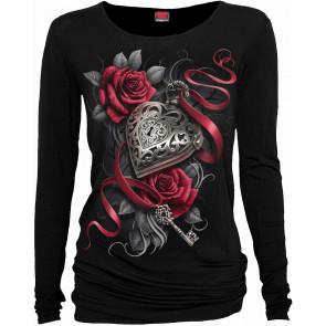 Heart locked - T-shirt femme gothique romantique