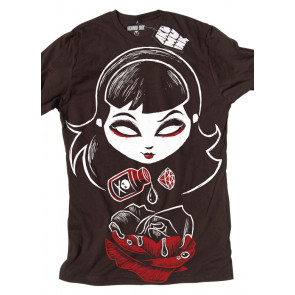 tee shirt fille gothic akumu ink