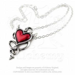 Devil Heart - Pendentif gothique - Alchemy Gothic
