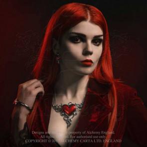 Devil Heart Genereux - Bijou collier - Alchemy Gothic