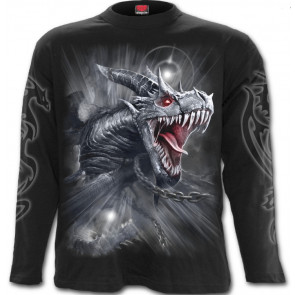 Dragon's cry - T-shirt homme - Manches longues