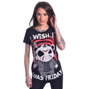 tee shirt purs vendredi 13 horreur cupcake cult