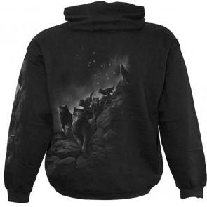 Wolf pack wrap - Sweat shirt capuche