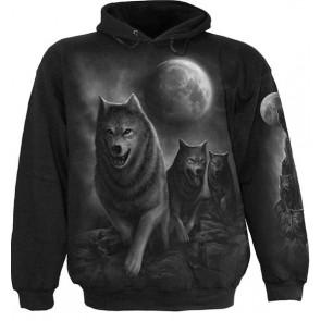 sweat shirt animaux loups