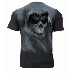Tattered skull - Tee-shirt motif reaper gothic - Homme - Spiral
