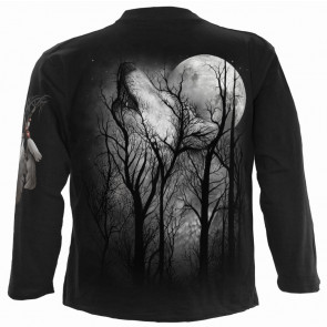 Forest wolf - T-shirt homme - Manches longues - Loup