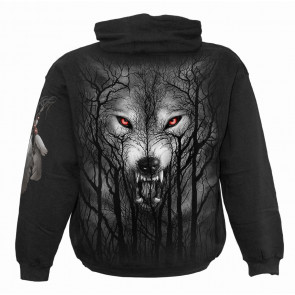 Forest wolf - Sweat shirt homme - Loup - Spiral