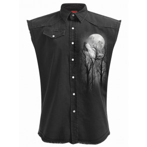 Forest wolf - Chemise sans manches - Loup
