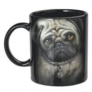 Coffret 2 mugs - Pug life - Chiens - Tasse déco table