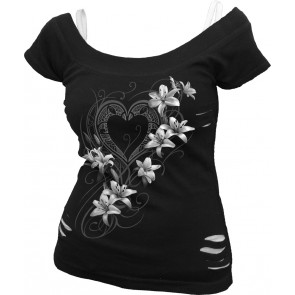 Pure of heart - T-shirt femme - Romantique