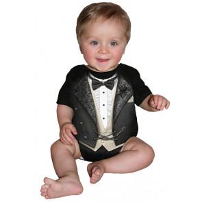 Tuxed - Body bébé - Costume chic gothic - Spiral