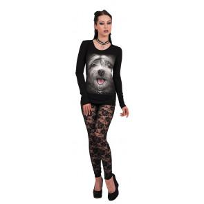 Misty eyes - T-shirt femme - Chien