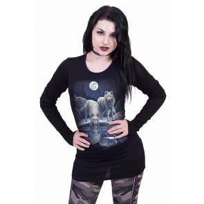 Warriors of winter - T-shirt femme - Loups - Lisa Parker