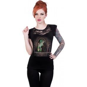 Absinthe - T-shirt femme chat fantasy - Lisa Parker