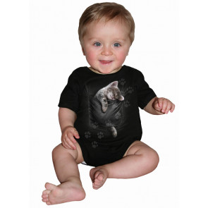 Pocket kitten - Body bébé - Chaton - Chat