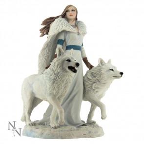 Boutique vente figurines Anne Stokes en France - Winter guardians statuette